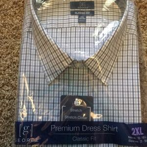 Other - Brand New Premium Dress Shirt Wrinkle Resistant